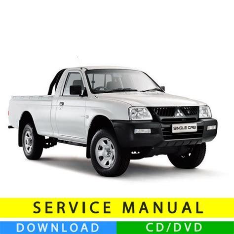 service manual i have a 2005 mitsubishi maintenance schedule for 2005 mitsubishi outlander mitsubishi l200 service manual 1995 2005 en tecnicman com