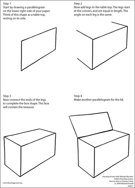 free drawing lessons pirate chest drawing www imgkid the image kid has it