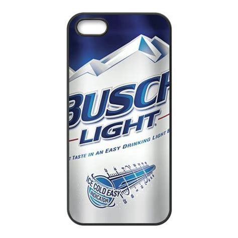 case of busch light custom busch light beer can for iphone 4 4s 5 5s 5c phone