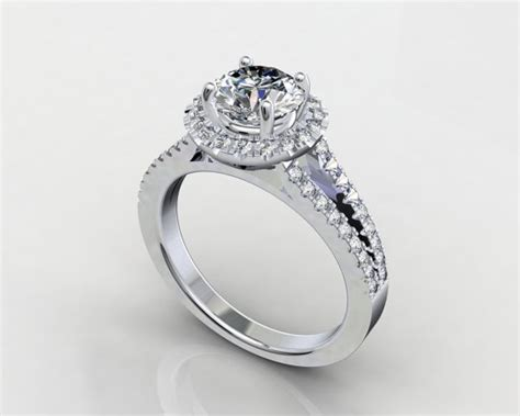 fs engagement ring mold 3d cad c t