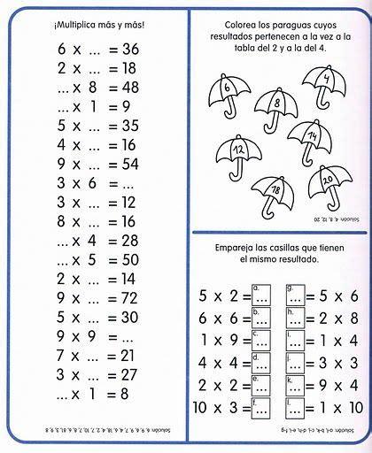 imagenes de actividades matematicas las 25 mejores ideas sobre ejercicios de matem 225 ticas en