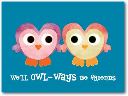 valentines day cards for friends owlways friends s day cards for in luxe