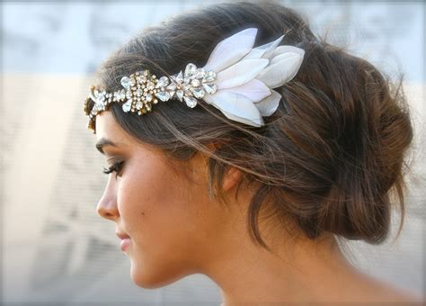 Wedding Headpiece by Vintage Bohemian Wedding Headpiece Onewed