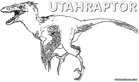 coloring pages utah utahraptor coloring pages coloring pages to and