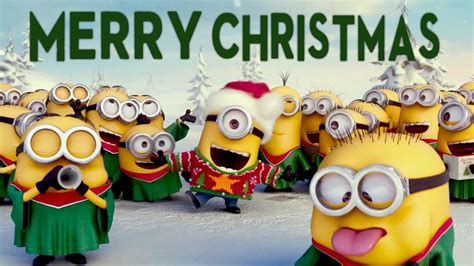crazy funny minions merry christmas  video feliz natal musica youtube