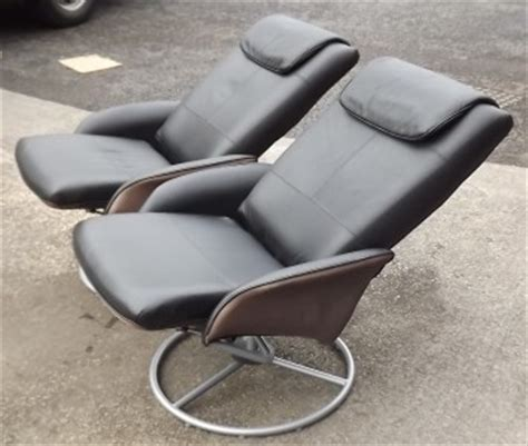 black leather swivel relax nursing chair poang