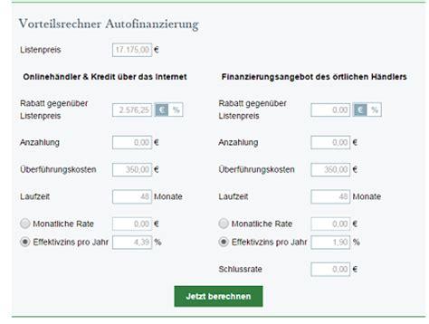 autokredit mit schlussrate rechner autokredit g 252 nstiger zur autofinanzierung mit dem