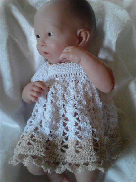 pattern crochet doll dress free crochet pattern for micro preemie baby or berenguer