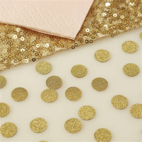Table Confetti by Gold Glitter Table Confetti By