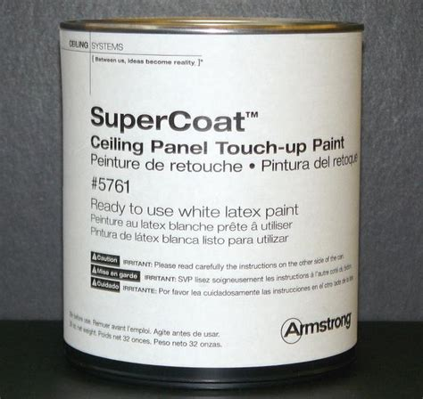 armstrong supercoat ceiling panel touch up paint 5761 at