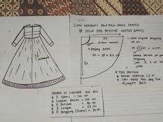 Geisha Tunic Xize Baju Dewasa pola baju fishtail sewing project baju kurung other related tutorials