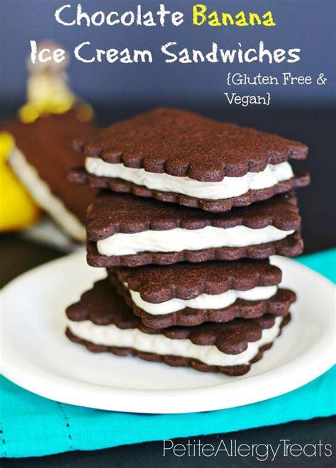 healthy fats nut allergy dairy free banana sandwiches gluten free vegan