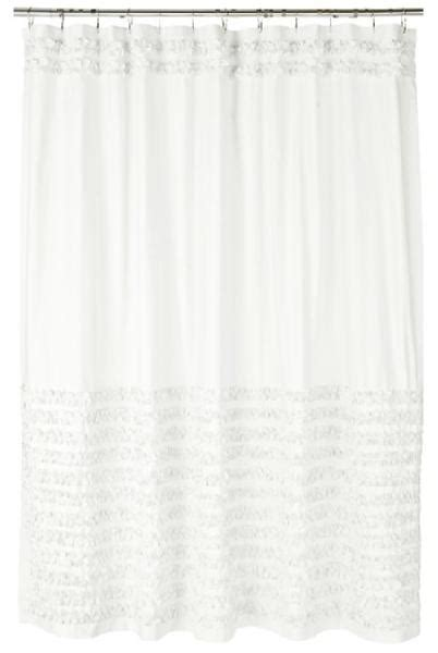 shower curtains for less ruffled shower curtain look 4 less