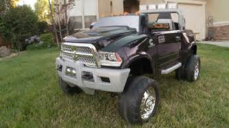 Power Wheels Chevy Truck For Sale Kid Trax Dodge Ram Truck Review