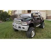 Kid Trax Dodge Ram Truck Review  YouTube
