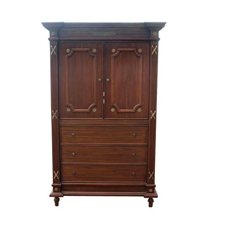 Custom Armoires by Custom Made Traditional Mahogany Armoire Ebay
