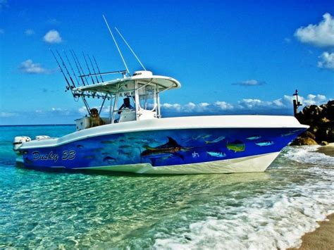 that boat guy guy harvey boat wrap guy harvey artist and others well