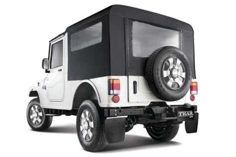 mahindra thar di price mahindra thar the jeep is back