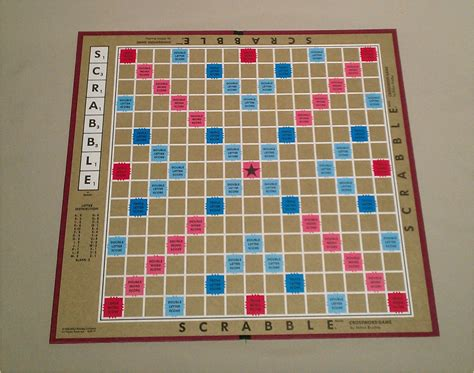 new scrabble board vintage scrabble board by jantiki on etsy