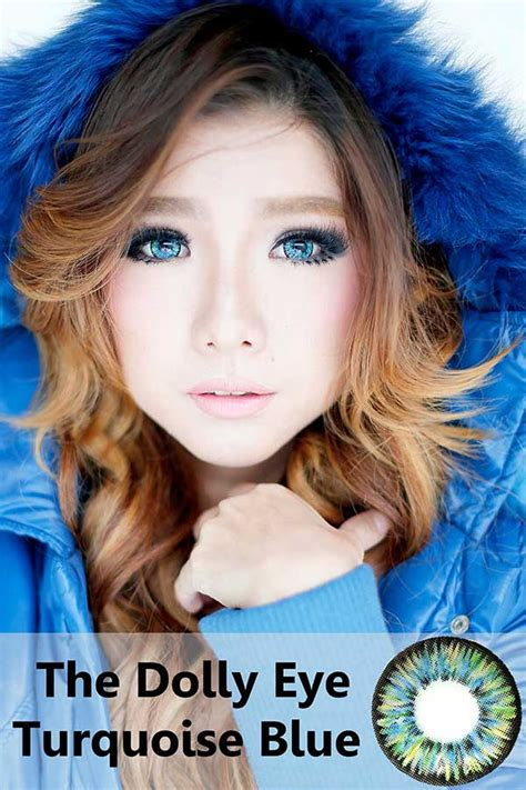 Mibuki Softlens Blue new the dollyeye 22 8mm mini sclera lens