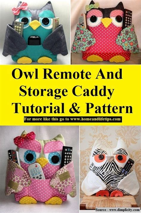 pattern for owl remote holder 17 best images about craft projects sewing on pinterest