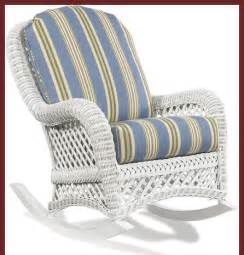 White wicker rocker traditional outdoor lounge chairs other