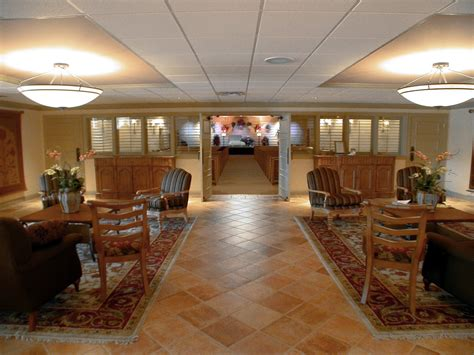 Funeral Home Interiors | eubank funeral home jst architects