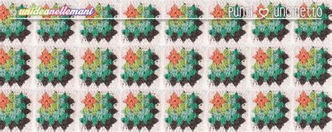 piastrelle all uncinetto schemi piastrelle uncinetto tutorial mattonella classica con