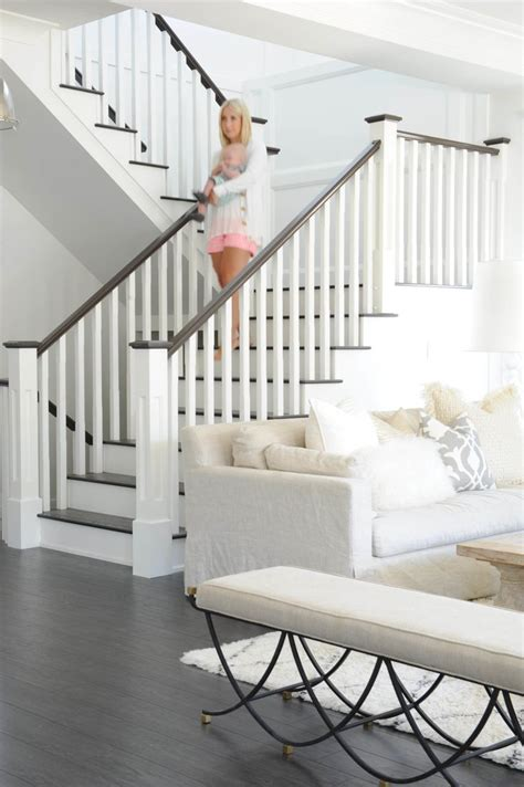 stairway banister 25 best ideas about staircase railings on pinterest