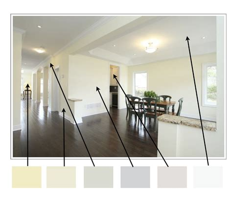 painting an open floor plan different colors choosing color for homes with open floor plans