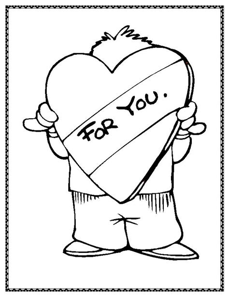 free coloring pages valentine coloring pages