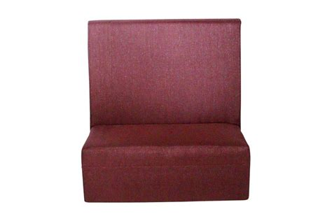 high back banquette bench mid back straight banquette metallic aubergine lux