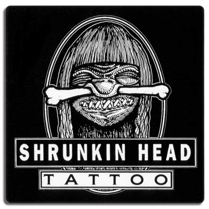 shrunkin head tattoo lunar echo
