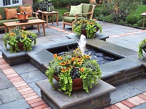Cool Ponds Pools And Fountains For The Backyard Diy Fountains For Backyards