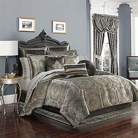 spa bedding j by j queen new york bridgeport comforter set in spa