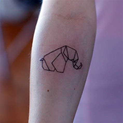 tattoo elephant origami origami tattoo pictures to pin on pinterest