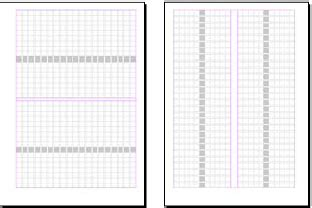 grid layout horizontal layout grids in indesign