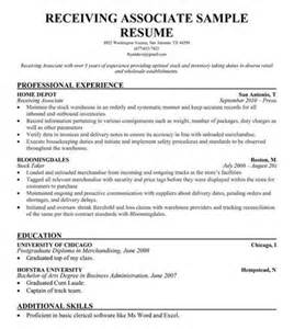 Accounts Receivable Clerk Resume Sle by Warehouse Clerk Resume Sales Clerk Lewesmr