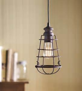 Cage Pendant Light In Wire Cage Pendant Light Ls Lighting