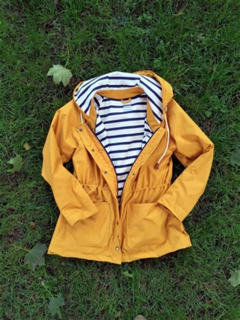 yellow jacket pattern fisherman s waver jacket by tante karlo project sewing
