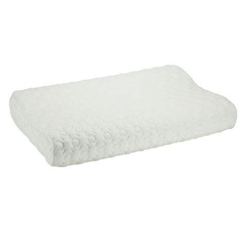 contoured pillow comfort sleep contoured pillow obusforme