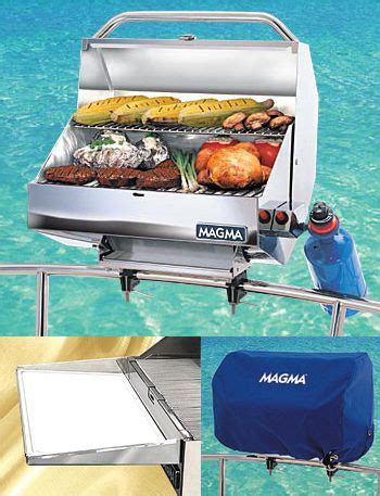 pontoon boat with grill for sale grill for the boat http www magmaproducts this is