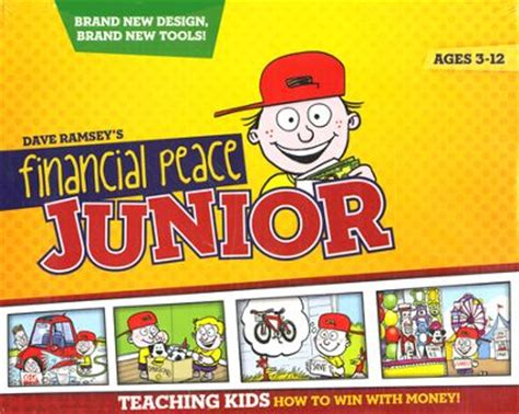 financial peace junior kit teaching how to win with money the easiest way to keep kids brains active this summer
