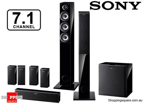 sony sa pf55h71 7.1 channel home theatre speaker system