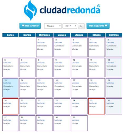 Calendario Liturgico 2017 Esp 237 Ritu Cristiano Enero 2016
