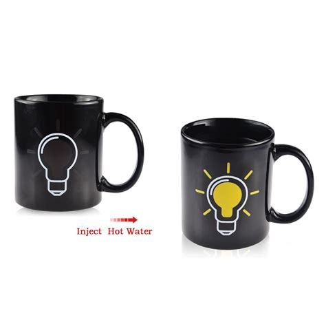 color changing mugs 28 images heat sensitive color changing mugs promotion shop for china funny magic color changing mug heat sensitive light bulb