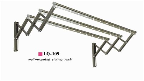 Wall Mounted Cloth Rack by China Wall Mounted Clothes Rack Gr 109 China Metal Clothes Rack Metal Clothes Hanger