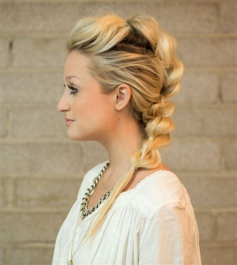5 Braid Hair Styles You Can Rock by 25 Best Ideas About Mohawk Ponytail On