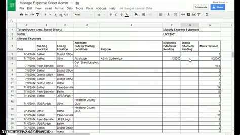 Gas Mileage Spreadsheet by Search Results For Mileage Spreadsheet Calendar 2015