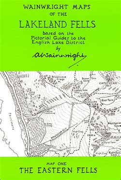 the eastern fells wainwright readers edition books wainwright maps 1 the eastern fells stanfords